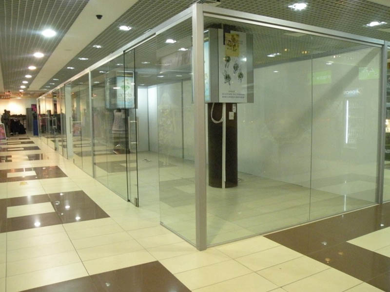 цена стеклянные двери из стекла