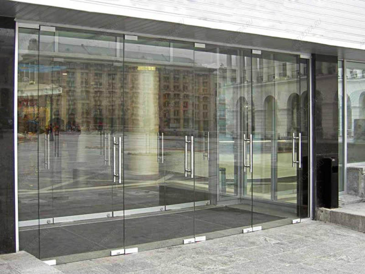 стеклянные двери цена